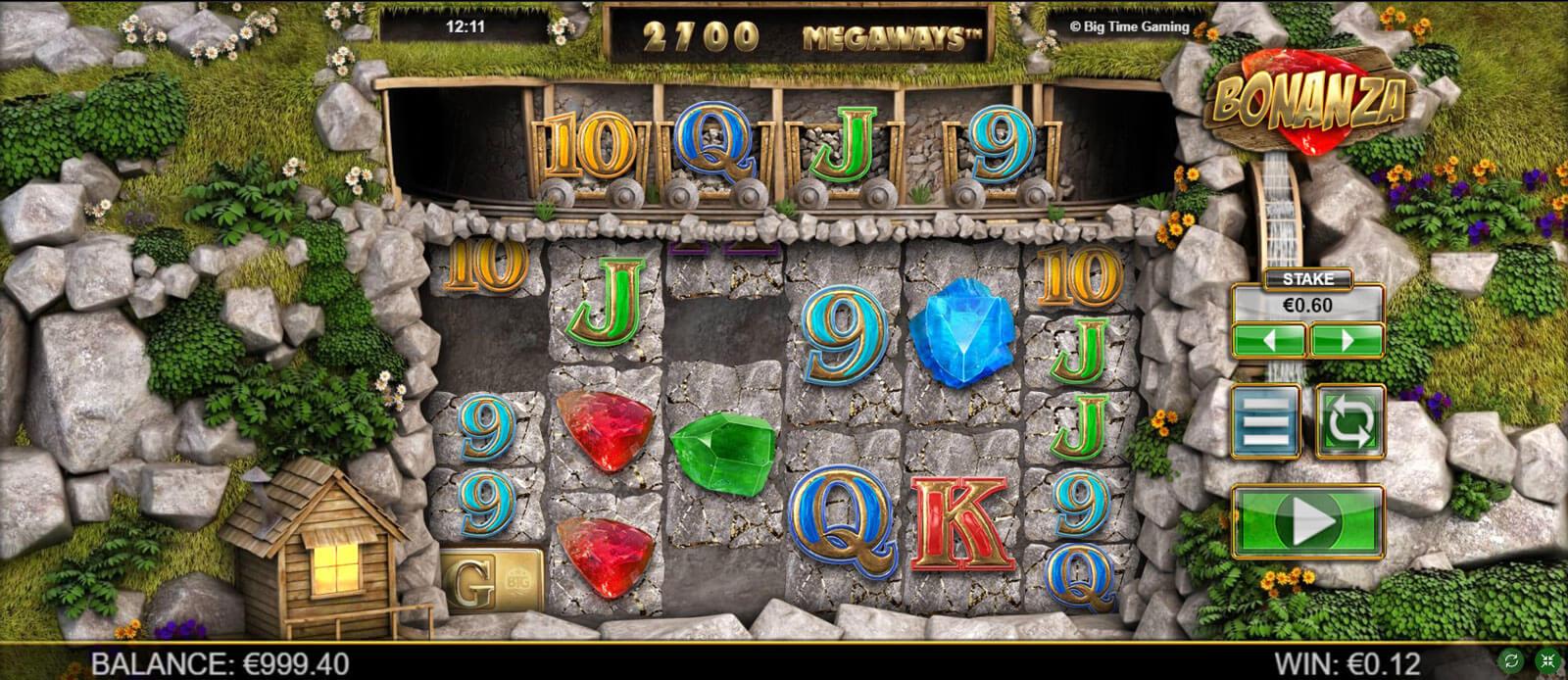 Bonanza Online Slot Screenshot