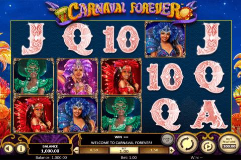 carnaval forever betsoft