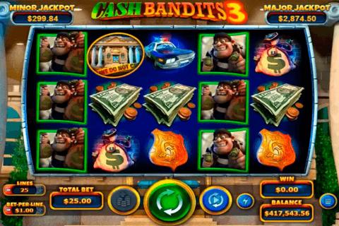 cash bandits  rtg pokie