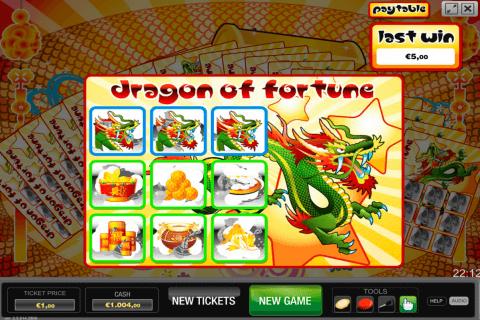 dragon of fortune world match