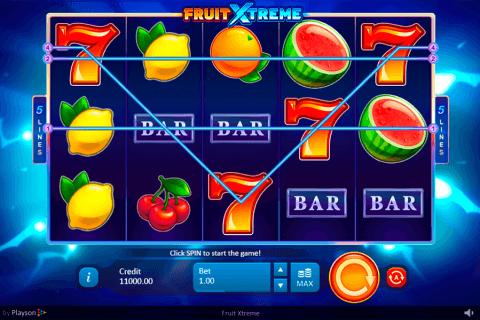 fruit treme playson pokie