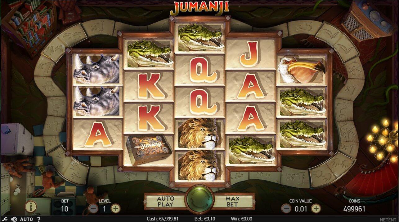 Jumanji Online Slot Screenshot