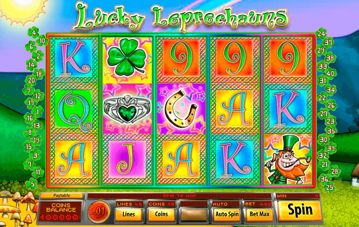 lucky leprechauns saucify pokie