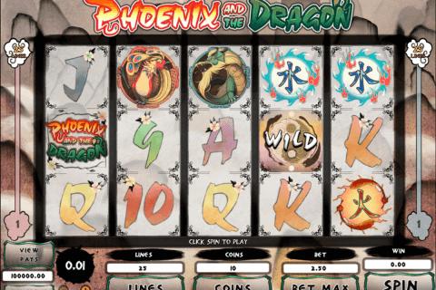 phoeni and the dragon microgaming