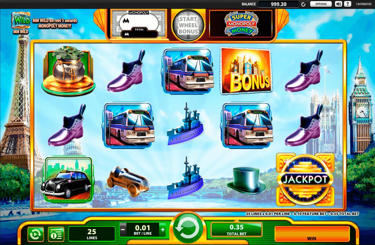 super monopoly money wms pokie