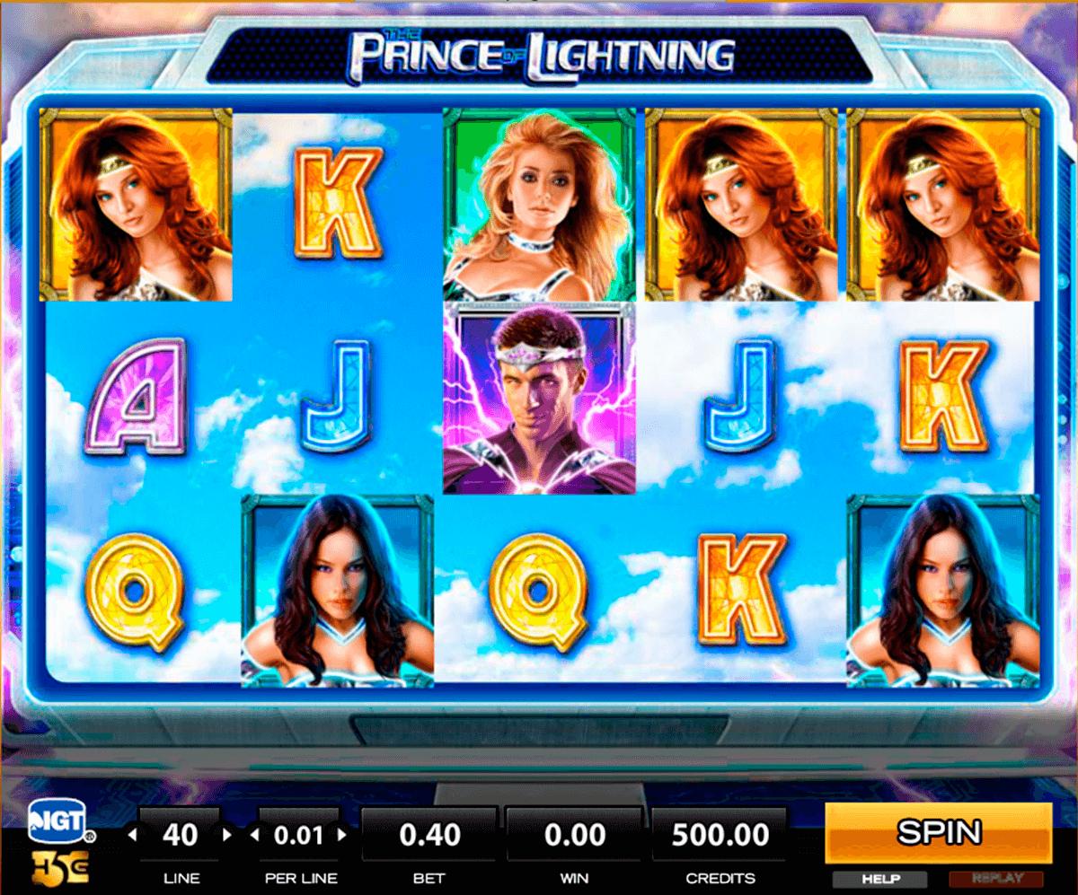 the prince of lightning high5