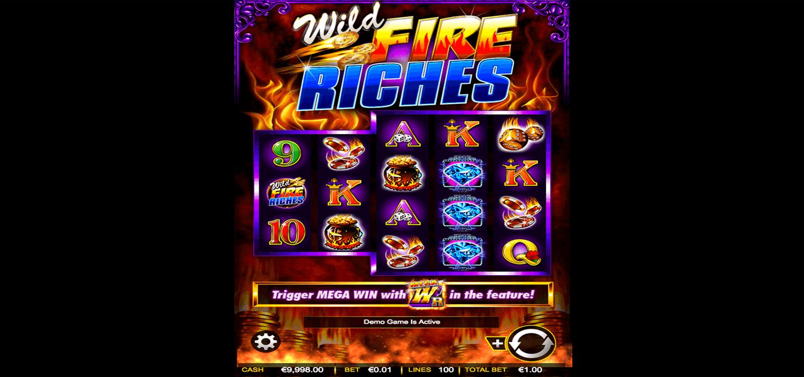 wild fire riches ainsworth